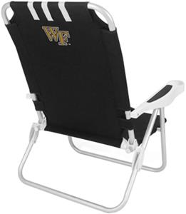Picnic Time Wake Forest University Monaco Chair