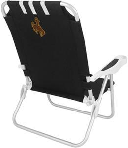 Picnic Time University of Wyoming Monaco Chair