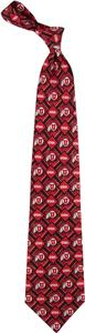 Eagles Wings NCAA Utah Pattern 3 Silk Tie