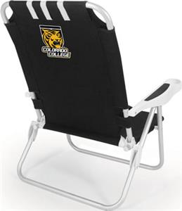Picnic Time Colorado College Tigers Monaco Chair