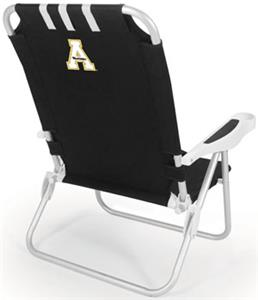 Picnic Time Appalachian State Monaco Beach Chair