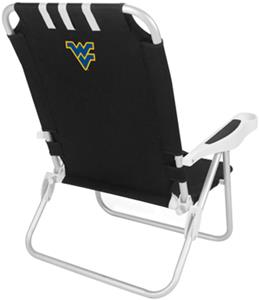 Picnic Time West Virginia University Monaco Chair