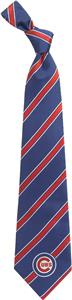 Eagles Wings MLB Chicago Cubs Woven Poly 1 Tie
