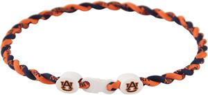 Eagles Wings NCAA Auburn Titanium Twist Necklaces