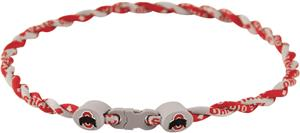 Eagles Wings NCAA Ohio State Twist Necklaces