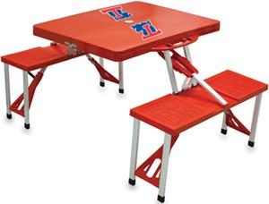 Picnic Time Louisiana Tech Bulldogs Picnic Table