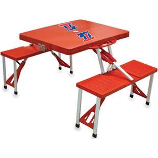 Picnic Time Louisiana Tech Bulldogs Picnic Table