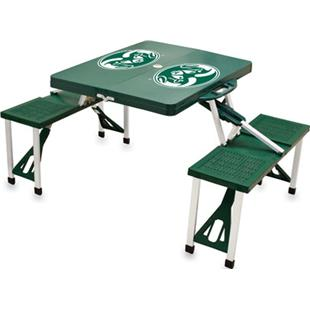 Picnic Time Colorado State Rams Picnic Table