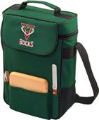 Picnic Time NBA Milwaukee Bucks Duet Wine Tote