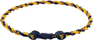 Eagles Wings NCAA West Virginia Twist Necklace