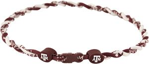 Eagles Wings NCAA Texas A&amp;M Twist Necklace