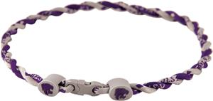 Eagles Wings NCAA Kansas State Twist Necklaces