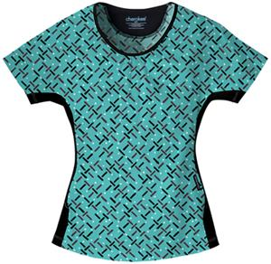 Cherokee Women's Flexibles PR Scoop Neck Scrub Top