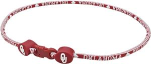 Eagles Wings NCAA Oklahoma Titanium Sport Necklace