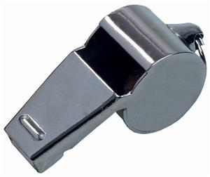 Select Large Metal Referee Whistle