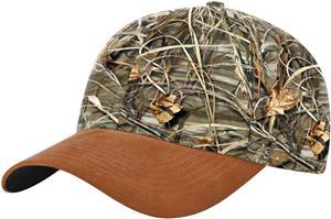 Richardson Duck Cloth Visor Camo Caps