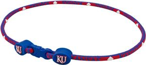 Eagles Wings NCAA Kansas Titanium Sport Necklace
