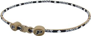 Eagles Wings NCAA Purdue Titanium Sport Necklaces