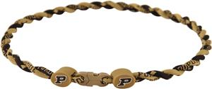 Eagles Wings NCAA Purdue Titanium Twist Necklaces