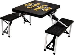 Picnic Time LSU Tigers Folding Picnic Table