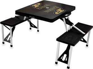 Picnic Time Purdue University Folding Picnic Table