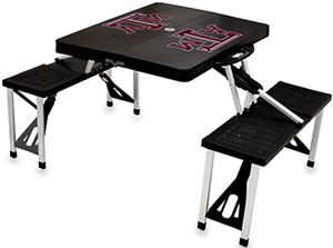 Picnic Time Texas A&amp;M Aggies Folding Picnic Table