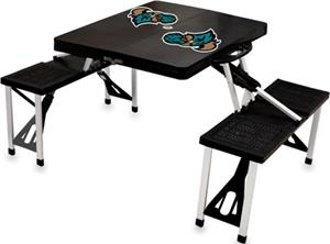 Picnic Time Coastal Carolina Folding Picnic Table