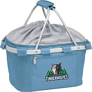 Picnic Time NBA T-wolves Insulated Metro Basket