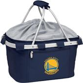 Picnic Time NBA Warriors Insulated Metro Basket