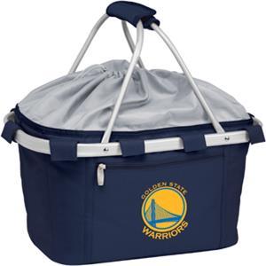Picnic Time NBA Warriors Insulated Metro Basket