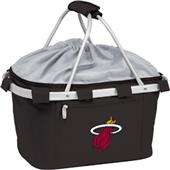 Picnic Time NBA Miami Heat Insulated Metro Basket