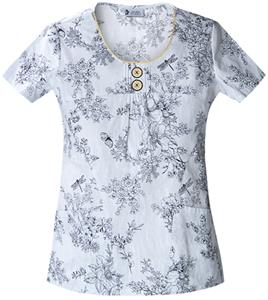 Cherokee Studio PR Women&#39;s Scoop Neck Scrub Tops