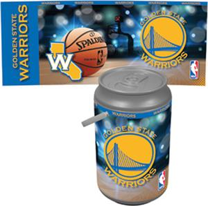 Picnic Time NBA Warriors Mega Can Cooler