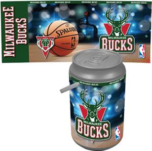Picnic Time NBA Milwaukee Bucks Mega Can Cooler