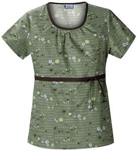 Cherokee Studio PR Women's Scoop Neck Scrub Tops