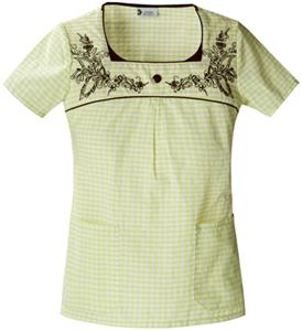 Cherokee Studio PR Women&#39;s Square Neck Scrub Tops