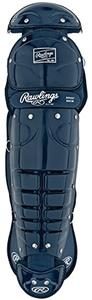 Rawling Adult 17&quot; Baseball Catcher Leg Guards 5DCW