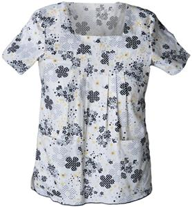 Cherokee Studio Lumiere PR Square Neck Scrub Tops