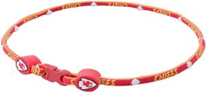 Eagles Wings NFL KC Chiefs Titanium Sport Necklace