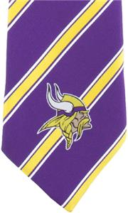 Eagles Wings NFL Minnesota Vikings Woven Poly1 Tie
