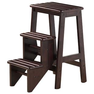 "Boraam Solid Hardwood  24"" Step Stool"
