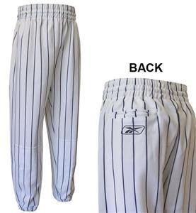 Reebok Pinstriped Youth Baseball Pants-Closeout