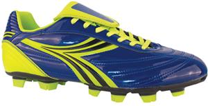 Diadora Evento Soccer Cleats - Blue/Yellow