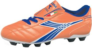 Diadora Forza MD Soccer Cleats - Orange/Blue