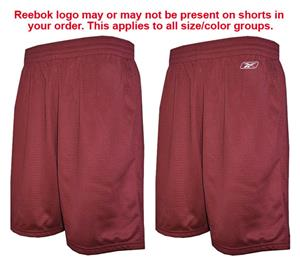 Reebok 2 Ply Tricot Mesh Athletic Shorts-Closeout