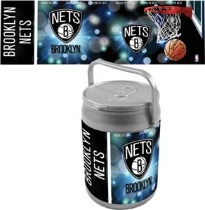 Picnic Time NBA Brooklyn Nets Can Cooler