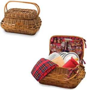 Picnic Time NFL Atlanta Falcons Highlander Basket
