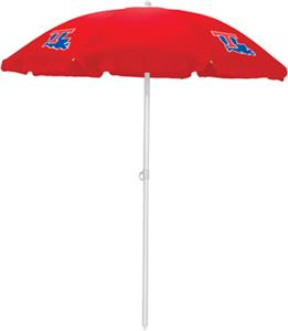 Picnic Time Louisiana Tech Sun Umbrella 5.5