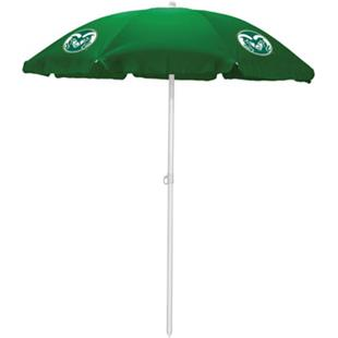 Picnic Time Colorado State Rams Sun Umbrella 5.5