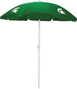 Picnic Time Michigan State Spartans Sun Umbrella